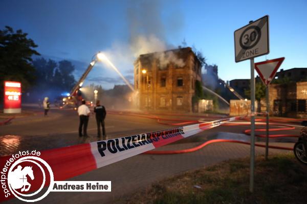 Brauereibrand Halle Saale