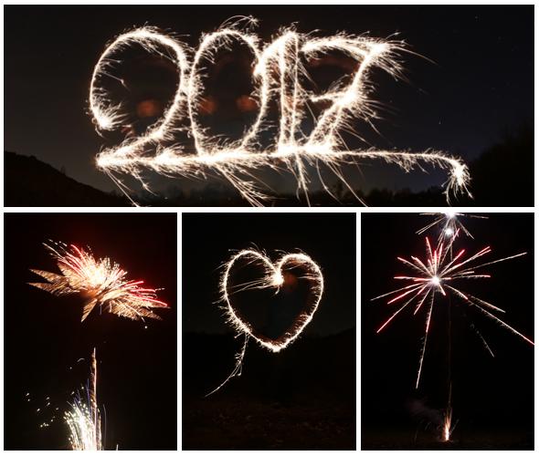 Frohes neues Jahr - Happy new year - 2017